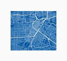 Houston Map - Deep Blue Unisex T-Shirt
