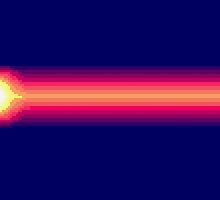 JotJ Sunset Stripes by Dykland Wonderbread