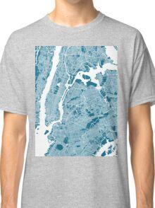 New York City Map Classic T-Shirt