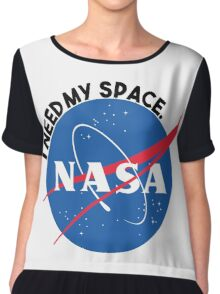NASA- I Need My Space Chiffon Top