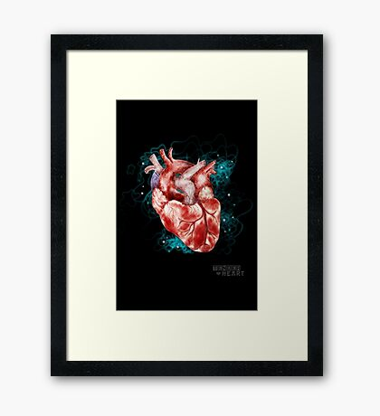 Tender Heart Framed Print