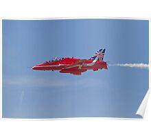 Red Arrows Farnborough Airshow Poster