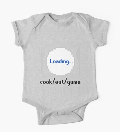 Cook/Eat/Game Official Logo One Piece - Short Sleeve
