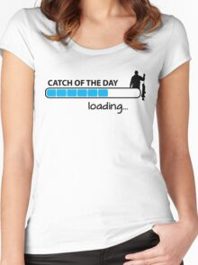 Catch of the day - loading... Women's Fitted Scoop T-Shirt