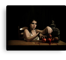 The apples are poisoned Canvas Print