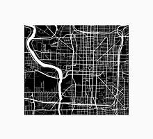 Indianapolis Map - Black Unisex T-Shirt