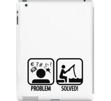 Fishing: Problem Solved iPad Case/Skin