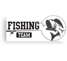 Fishing Team Metal Print