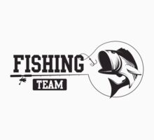 Fishing Team Baby Tee