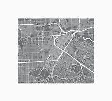 Houston Map - Grey Unisex T-Shirt