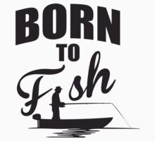 Born to fish Kids Tee