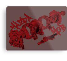 Mazda MOB 101 engine Metal Print
