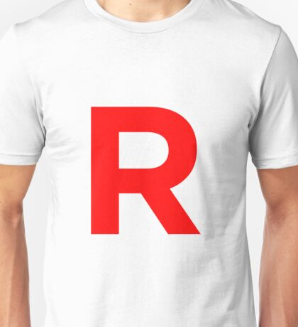 Team Rocket Pokemon Logo Unisex T-Shirt
