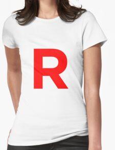 Team Rocket Pokemon Logo Womens Fitted T-Shirt