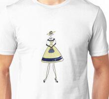 Illustration of a girl Unisex T-Shirt