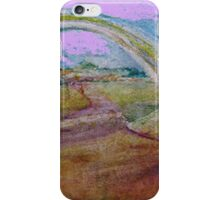 Gentle Impression of an arch in a Landscape  iPhone Case/Skin