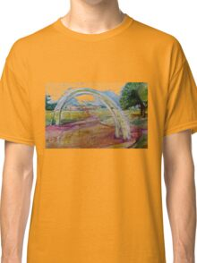 Gentle Impression of an arch in a Landscape  Classic T-Shirt