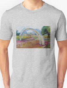 Gentle Impression of an arch in a Landscape  Unisex T-Shirt