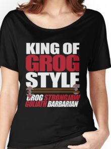 King of Grog Style - Critical Role Women's Relaxed Fit T-Shirt