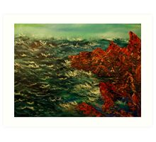 Rockport Bay Art Print