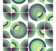 Green Fields Pattern by VessDSign
