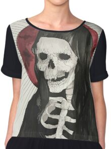 Grim Women's Chiffon Top