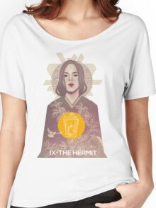 HERMIT Women's Relaxed Fit T-Shirt