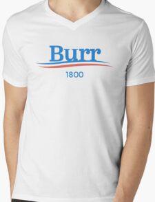 Burr For President Mens V-Neck T-Shirt