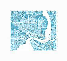 Jacksonville Map - Baby Blue Unisex T-Shirt