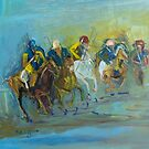 The Polo Game - Victoria Australia by Margaret Morgan (Watkins)