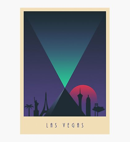 Las Vegas (Border Light) Photographic Print
