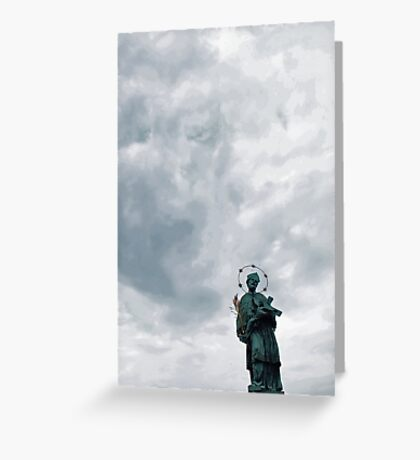 Saint Greeting Card