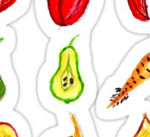 Fruits and Vegetables Art Sticker