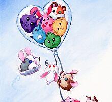 Bunny Love by Mary C