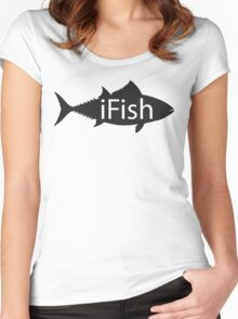 ifish Women's Fitted Scoop T-Shirt