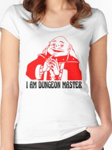 I AM DUNGEON MASTER Women's Fitted Scoop T-Shirt