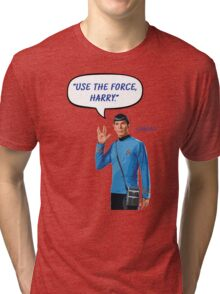 Use the force, Harry Tri-blend T-Shirt