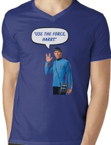 Use the force, Harry Mens V-Neck T-Shirt