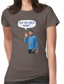 Use the force, Harry Womens Fitted T-Shirt