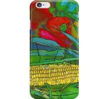 RainbowConfetti Farmers Market Corn on the Cob iPhone Case/Skin