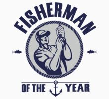 Fisherman of the year Kids Tee