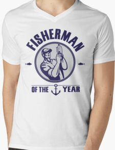 Fisherman of the year Mens V-Neck T-Shirt