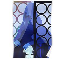 Blue Diamond Poster