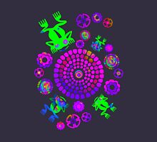 Psychedelic Aztec Frog Pond Unisex T-Shirt