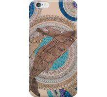 Mandala whales iPhone Case/Skin