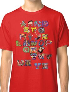 Saturday Morning Cartoons! Classic T-Shirt