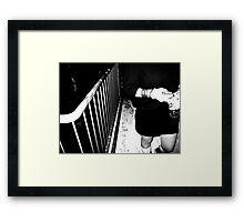 Bangles and Rails Framed Print