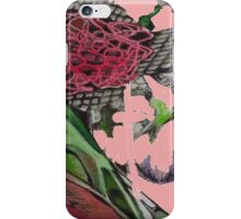 Pretty Floral Drawing  iPhone Case/Skin