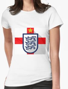 England Womens Fitted T-Shirt