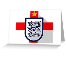 England B Greeting Card